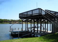 Fun House on Lake LBJ in Kingsland, Texas
